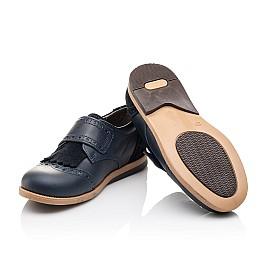 Детские туфли Bebbini синие для девочек натуральная кожа размер 22-29 (3020) Фото 2