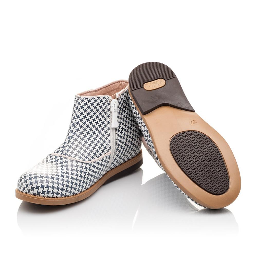 Детские демисезонные ботинки Bebbini разноцветные для девочек натуральная кожа размер 21-30 (3025) Фото 2
