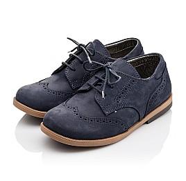 Детские туфли Woopy Orthopedic синие для девочек натуральный нубук размер 22-25 (3029) Фото 3