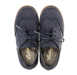 Детские туфли Woopy Orthopedic синие для девочек натуральный нубук размер 22-25 (3029) Фото 5