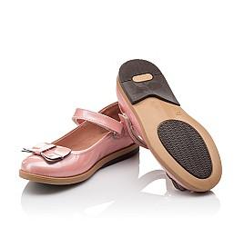 Детские туфли Bebbini розовые для девочек натуральная лаковая кожа размер 24-24 (3030) Фото 2