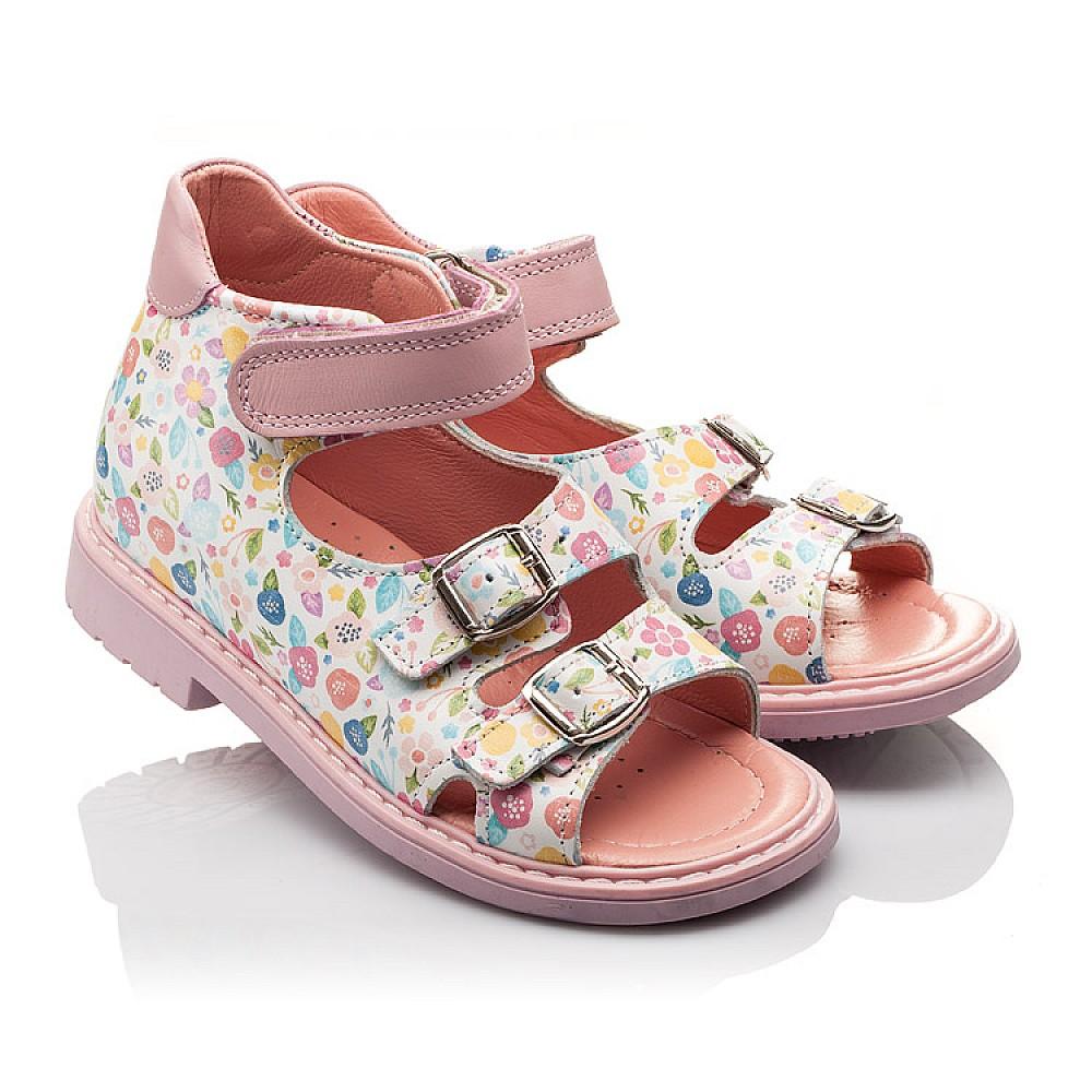 2a123c16f9fbb4 Дитячі Ортопедичні босоніжки Woopy Orthopedic різнокольорові, рожеві ...