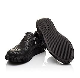 Детские туфли Woopy Orthopedic черные для девочек натуральный нубук размер - (3070) Фото 2