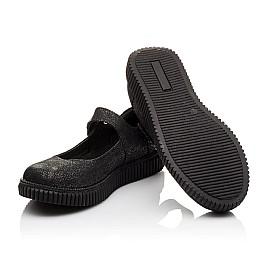 Детские туфли Woopy Orthopedic черные для девочек натуральный нубук размер - (3073) Фото 2