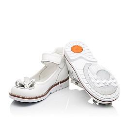 Детские туфли ортопедические Woopy Orthopedic белые для девочек натуральная кожа размер - (3074) Фото 2