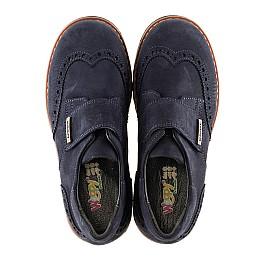 Детские туфли Woopy Orthopedic темно-синие для мальчиков натуральный нубук размер - (3078) Фото 5