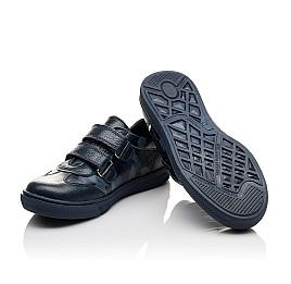 Детские туфли спортивные Woopy Orthopedic синие для мальчиков натуральная кожа размер - (3083) Фото 2