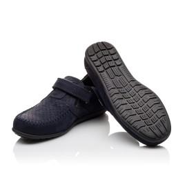 Детские туфли Woopy Orthopedic темно-синие для мальчиков натуральный нубук размер - (3084) Фото 2