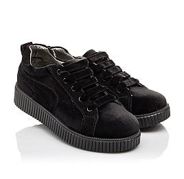 Детские туфли Woopy Orthopedic черные для девочек современный искусственный материал размер - (3086) Фото 1