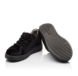 Детские туфли Woopy Orthopedic черные для девочек современный искусственный материал размер - (3086) Фото 2