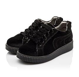 Детские туфли Woopy Orthopedic черные для девочек современный искусственный материал размер - (3086) Фото 3