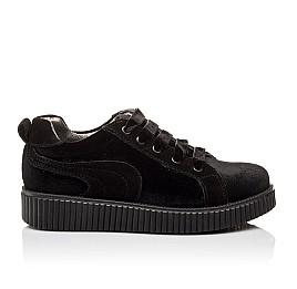 Детские туфли Woopy Orthopedic черные для девочек современный искусственный материал размер - (3086) Фото 4