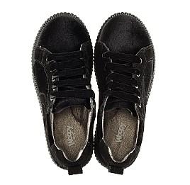 Детские туфли Woopy Orthopedic черные для девочек современный искусственный материал размер - (3086) Фото 5