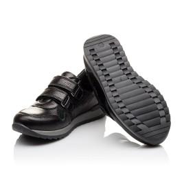 Детские кроссовки Woopy Orthopedic черные для мальчиков натуральная кожа размер 35-39 (3088) Фото 2