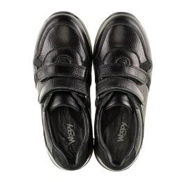 Детские кроссовки Woopy Orthopedic черные для мальчиков натуральная кожа размер 35-39 (3088) Фото 5