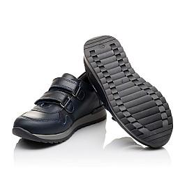 Детские туфли спортивные Woopy Orthopedic темно-синие для мальчиков натуральная кожа размер - (3090) Фото 2