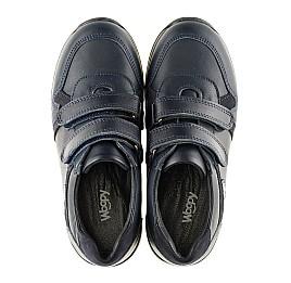 Детские туфли спортивные Woopy Orthopedic темно-синие для мальчиков натуральная кожа размер - (3090) Фото 5
