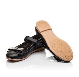 Детские туфли Woopy Orthopedic черный для девочек натуральная кожа размер - (3093) Фото 2