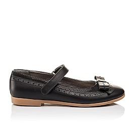 Детские туфли Woopy Orthopedic черный для девочек натуральная кожа размер - (3093) Фото 4