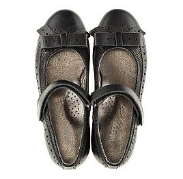 Детские туфли Woopy Orthopedic черный для девочек натуральная кожа размер - (3093) Фото 5