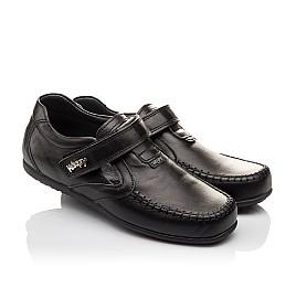 Детские туфли Woopy Orthopedic черные для мальчиков натуральная кожа размер - (3094) Фото 1