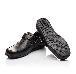 Детские туфли Woopy Orthopedic черные для мальчиков натуральная кожа размер - (3094) Фото 2