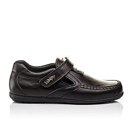 Детские туфли Woopy Orthopedic черные для мальчиков натуральная кожа размер - (3094) Фото 4