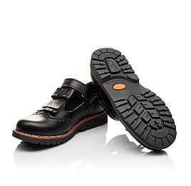 Детские туфли Woopy Orthopedic черные для девочек натуральная кожа размер - (3095) Фото 2