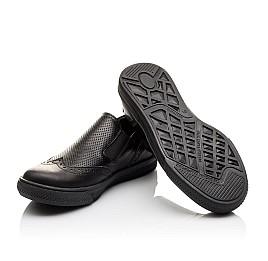 Детские туфлі Woopy Orthopedic черные для мальчиков натуральная кожа размер - (3112) Фото 2