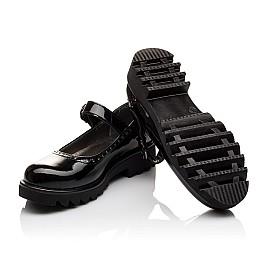Детские туфли Woopy Orthopedic черные для девочек лаковая кожа размер - (3117) Фото 2