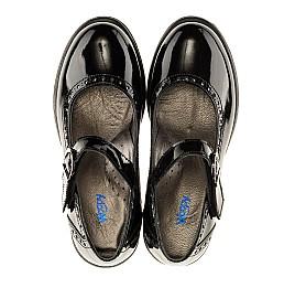 Детские туфли Woopy Orthopedic черные для девочек лаковая кожа размер - (3117) Фото 5