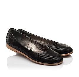Детские туфли Woopy Orthopedic черные для девочек  натуральная кожа размер - (3118) Фото 1