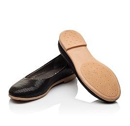Детские туфли Woopy Orthopedic черные для девочек  натуральная кожа размер - (3118) Фото 2