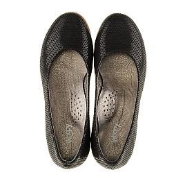 Детские туфли Woopy Orthopedic черные для девочек  натуральная кожа размер - (3118) Фото 5