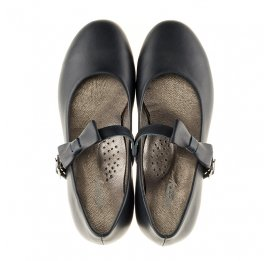 Детские туфли Woopy Orthopedic синие для девочек  натуральная кожа размер - (3120) Фото 5