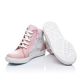 Детские демисезонные ботинки Woopy Orthopedic розовые для девочек натуральная кожа размер 40-40 (3228) Фото 2