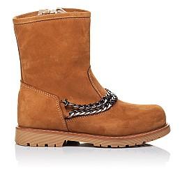 Для девочек Зимние ботинки на меху  3260