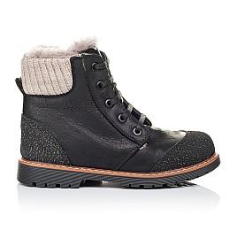 Детские зимние ботинки на меху Woopy Orthopedic черные для мальчиков натуральная кожа размер 31-31 (3277) Фото 4