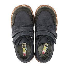 Детские туфли Woopy Orthopedic темно-синие для мальчиков натуральный нубук размер 28-34 (3291) Фото 5