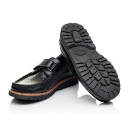 Детские туфли Woopy Orthopedic черные для мальчиков натуральная кожа размер 29-38 (3294) Фото 2