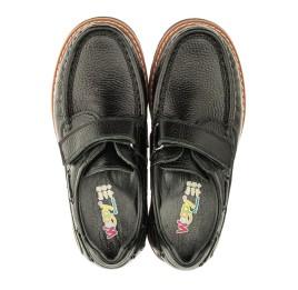 Детские туфли Woopy Orthopedic черные для мальчиков натуральная кожа размер 29-38 (3294) Фото 5