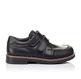 Детские туфли Woopy Orthopedic черные для мальчиков натуральная кожа размер - (3303) Фото 4