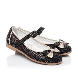 Детские туфли Woopy Orthopedic черные для девочек современный искусственный материал размер 28-28 (3306) Фото 1