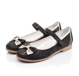 Детские туфли Woopy Orthopedic черные для девочек современный искусственный материал размер 28-28 (3306) Фото 3