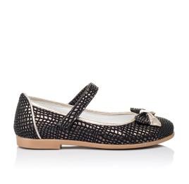 Детские туфли Woopy Orthopedic черные для девочек современный искусственный материал размер 28-28 (3306) Фото 4