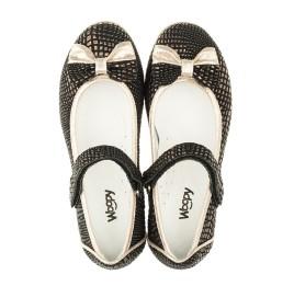 Детские туфли Woopy Orthopedic черные для девочек современный искусственный материал размер 28-28 (3306) Фото 5