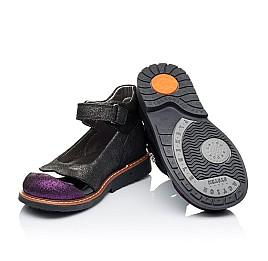 Детские туфли ортопедические Woopy Orthopedic черные для девочек натуральная кожа размер 26-26 (3308) Фото 2
