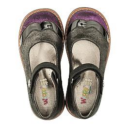 Детские туфли ортопедические Woopy Orthopedic черные для девочек натуральная кожа размер 26-26 (3308) Фото 5