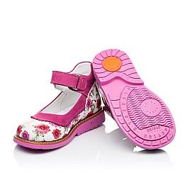 Детские туфли ортопедические Woopy Orthopedic розовые для девочек натуральная кожа размер 20-23 (3311) Фото 2