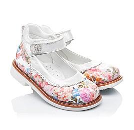 Детские туфли ортопедические Woopy Orthopedic разноцветные для девочек натуральная кожа размер 27-28 (3323) Фото 1